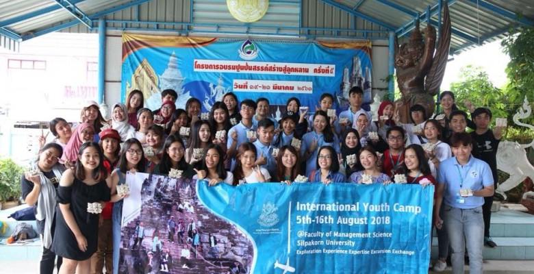 Trại hè Thanh niên quốc tế 2018 tại đại học Silpakorn Thái Lan: Những trải nghiệm thú vị đầu tiên